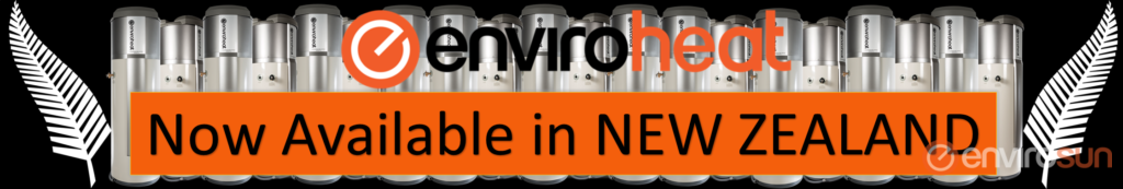Enviroheat heat pump hot water systems New Zealand