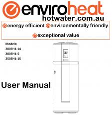 heat pump hot water heater manual Enviroheat
