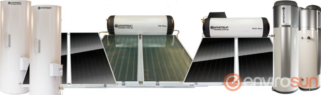 Envirosun solar hot water systems Australia