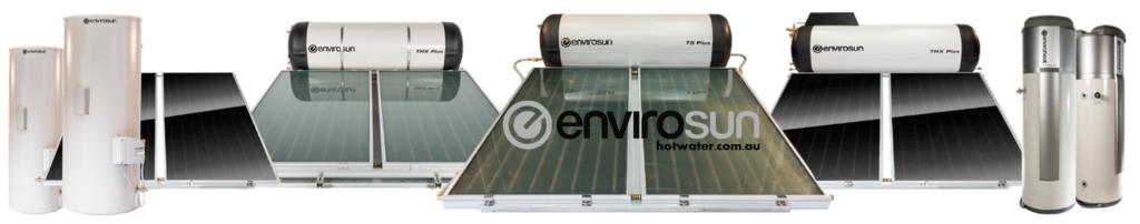 Envirosun solar hot water systems better than Solarhart and Rheem solar hot water systems