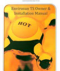 Envirosun TS Plus Owners manual Best solar hot water system